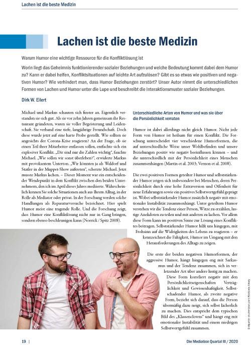 Dirk W Eilert - Lachen ist die beste Medizin 2020