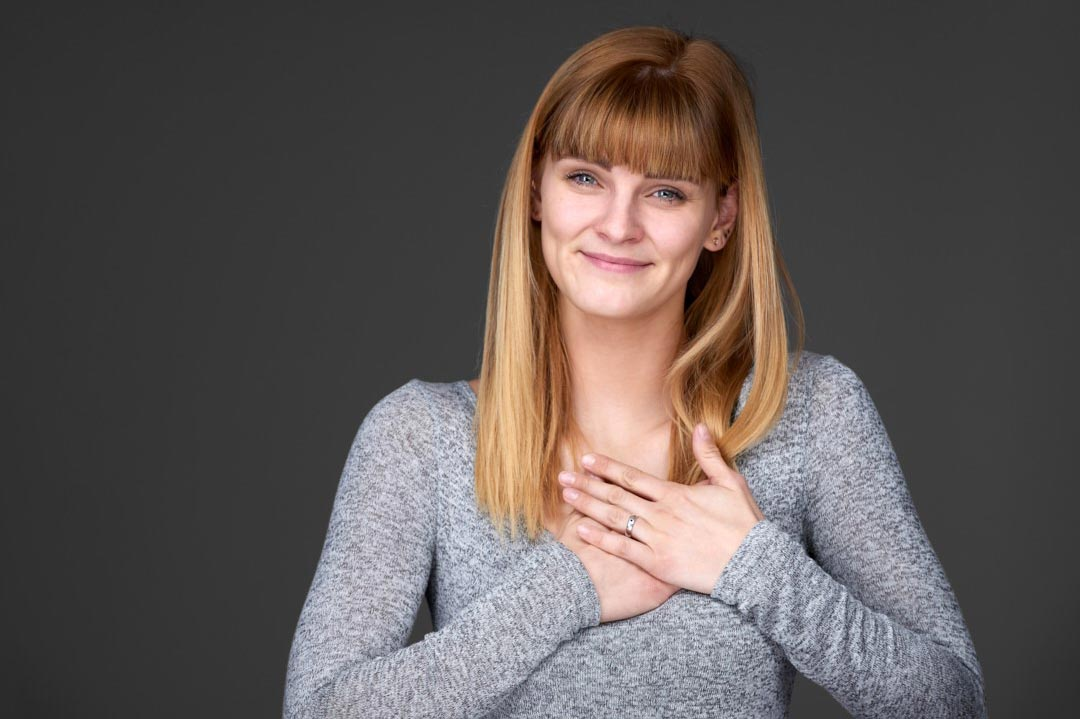 Mimikresonanztrainerin Gina Goetz