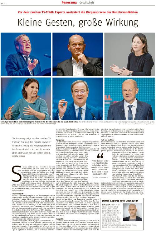 Kleine Gesten, große Wirkung - Westfälische Nachrichten